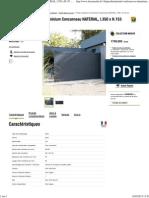 (Portail Coulissant en Aluminium Concarneau NATERIAL, l.350xH.153 Cm _ Leroy Merlin)