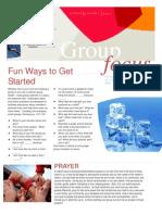 Fun Ways to Get Started………..…………...1