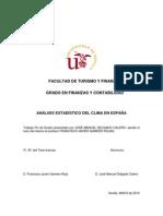 Análisis estadístico del clima en España