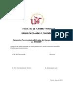 Extracción terminológica bilingüe del campo semántico de las IRFS-NIFF