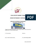 Análisis económico-financiero de Makro España S.A.