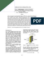 Jurnal - Pengembangan & Aplikasi Fuel Cell