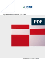 Trimo FTV Catalog System of Horizontal Facades