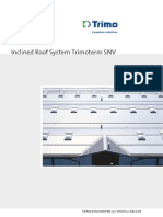 Trimo SNV Catalog Inclined Roof System Trimoterm SNV