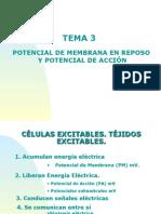Tema 3. Equilibrio Ionico y Potencial de Membrana de Reposo