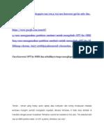 Cara Konversi GPT Ke MBR Dan Sebaliknya Tanpa Menghapus Data Harddisk