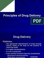 Principles of Drug Delivery