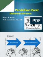 Falsafah Pendidikan Barat-Rekonstruktivisme 4