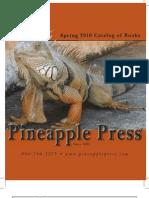Pineapple Press Spring 2010 Catalog