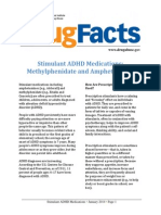 Stimulant ADHD Medications - Methylphenidate and Amphetamines