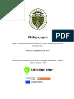 ökológia jegyzet