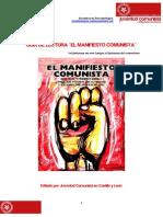 Guía de Lectura El Manifiesto Comunista (UJCE)