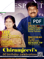 Cinesprint magazine september 2015