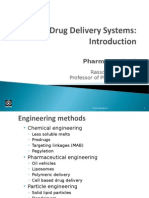 Drug Delivery Introduction