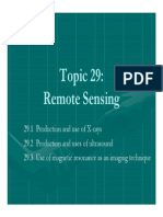 Remote Sensing - X-Ray Notes