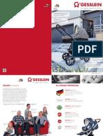 Gesslein, Katalog 2015