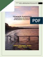 305. TENDER PUENTES + ENSEÑAR Y APRENDER FILOSOFIA