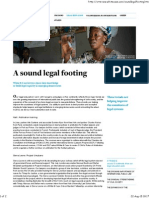 White & Case _ Social Responsibility Review_ Legal Education_ a Sound Legal Footing