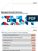 Managed Security Services on the Cloud by IBM