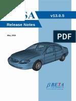 Ansa v13.0.x Release Notes