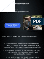 The IT Security Market Overview, 2012
