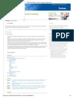 Gartner Market Share Analysis_ Security Consulting, Worldwide, 2012