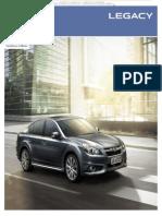 Catalogo Automovil Especificaciones Subaru Legacy Caracteristicas