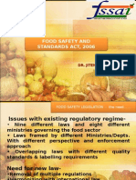 Food Safety and Standards Act,2006