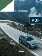 Jeep Grand Cherokee Catalog (2015)