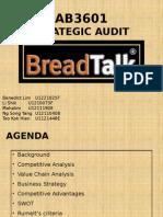 SG12 Team 4 Strategic Audit - BreadTalk