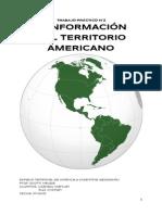 CONFORMACION DE AMERICA