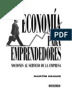Primeras Paginas Economia Para Emprendedores