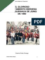 El Glorioso Levantamiento Indígena de Tungurahua, Junio 199 Vicente Chato Chango