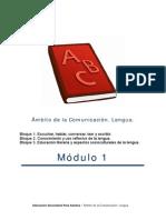 Lengua Modulo 1