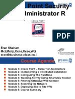 CCSA R75 Presentation-8 modules