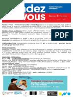 Rendez- Vouz Au Cinema Urania 6.9.-23.9.2015