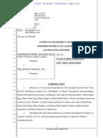 Honest Co. lawsuit