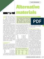 3.1 Alternative Materials