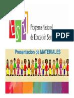 materiales primariaESI