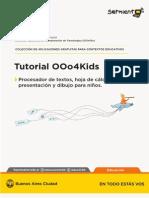 Tutorial Open Office Children