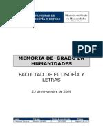 grado humanidades