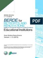 Berde Retrofit and Renovations for Educational Facilities