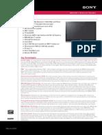 Sony Kdl52v4100 Ds