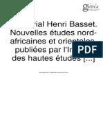 Nouvelles études nord-africaines et orientales
