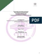 Historia Del Proceso de Evaluación Ambiental en Panamá