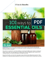 101 Essential Oil Uses & Benefits