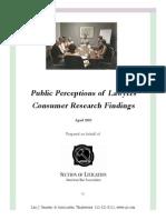 Public Perceptions 1