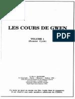Manoury Pierre - Les Cours de Gwen Volume 1 Et 2