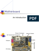 Motherboard Components... CSE