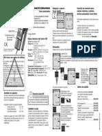 Testo 425 (Medidor de Caudal de Aire)